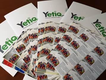 Pochette d'échantillons d'étiquettes adhésives en rouleaux Yetiq.pro