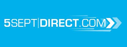 Le logo de notre ancienne solution d'impression d'étiquettes adhésives, 5 Sept|Direct