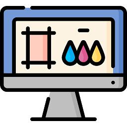 Accompagnement dans la création de fichiers graphiques pour de l'impression d'étiquettes adhésives
